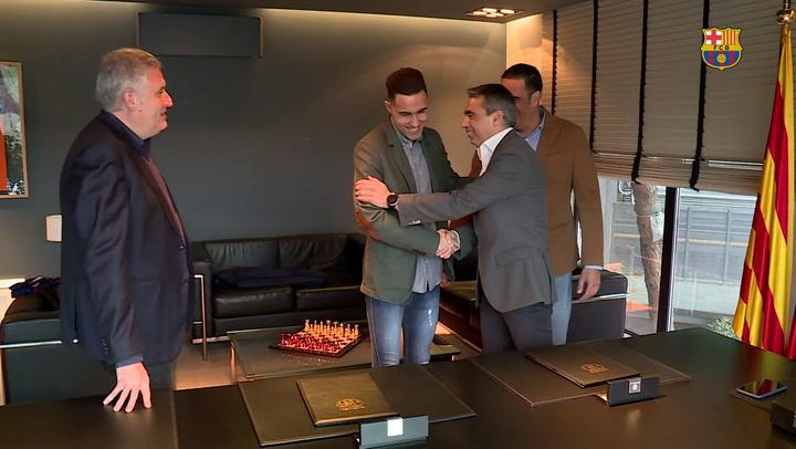 Aicardo renueva con el Barça Lassa hasta 2021