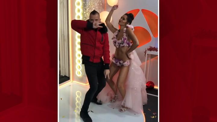 Cristina Pedroche y David Muñoz celebran su cuarto aniversario mostrando su baile de las Campanadas