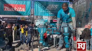 Mikita shows their tools at World of Concrete