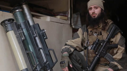 ISIS Video Features  American Militant
