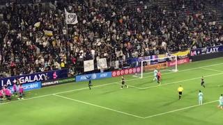 Así fue el gol de Alberth Elis desde la gradería en el partido ante el Galaxy