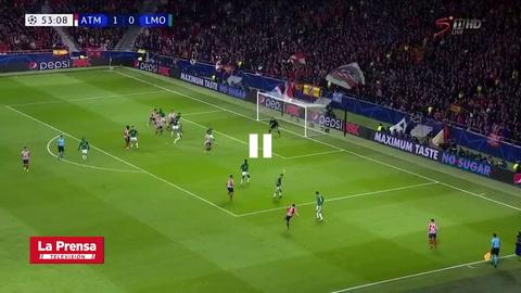 Atlético de Madrid 2-0 Lokomotiv Moscú (Champions League)