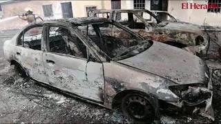 Al menos 16 carros quemados dejó incendio por rastra cisterna