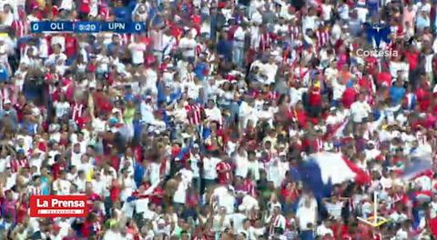 El gol de Deiby Flores (Olimpia) ante UPN