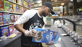 The Cereal Killerz Kitchen serves over 100 cereals