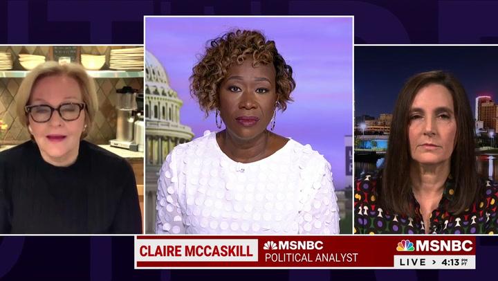 McCaskill: Senate Republicans 'Privately Embarrassed' by Trump's 'Big Lie' He Won 2020