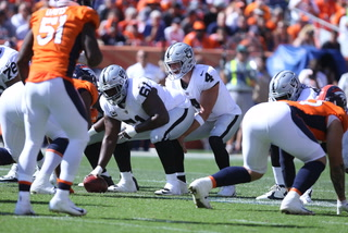 Derek Carr details chemistry with Antonio Brown, praises Von Miller and Bradley Chubb – VIDEO