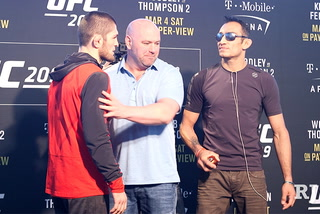 Heat intensifies between Ferguson and Nurmagomedov as UFC 223 nears