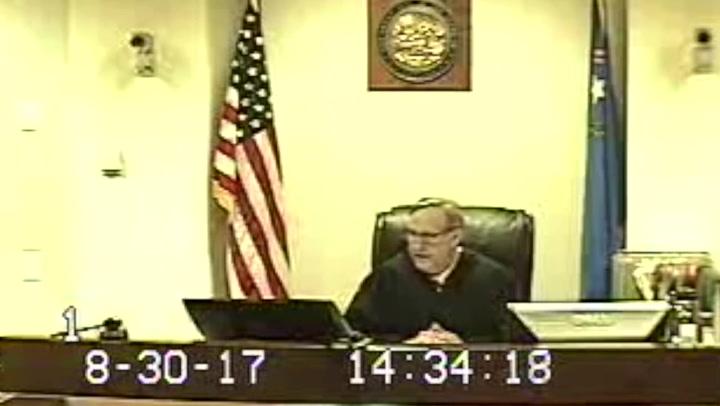 Family Court Judge Bryce Duckworth's statements to Steve Sanson