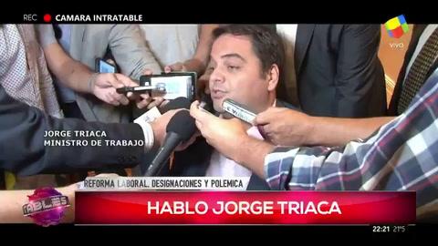 Triaca respaldó a su hermana como directora del Nación