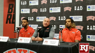 Tony Sanchez on UNLV going on the road