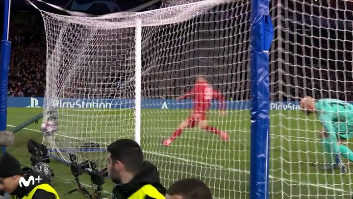 Champions League: Chelsea-Bayern. Gol de Robert Lewandowski (0-3)