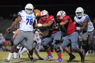 Liberty loses 35-0 to No. 1-ranked IMG Academy in Polynesian Classic
