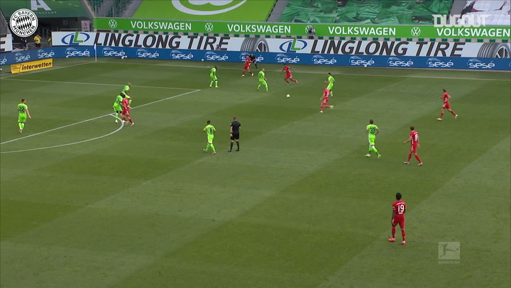 Michaël Cuisance's incredible first FC Bayern goal vs VfL Wolfsburg