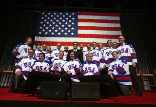The Golden Knights will host the 1980 Miracle on Ice team – VIDEO