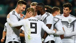 Alemania golea a Rusia en partido amistoso