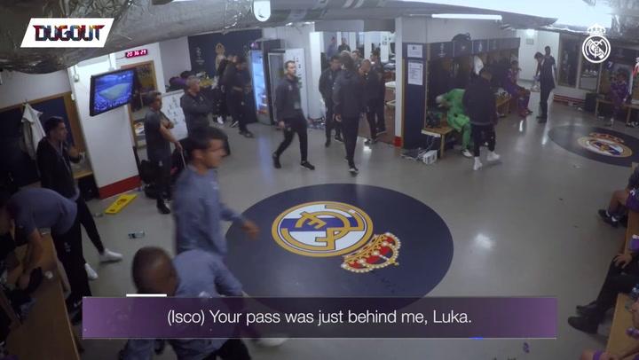 Zidane's inspirational UCL final team-talk