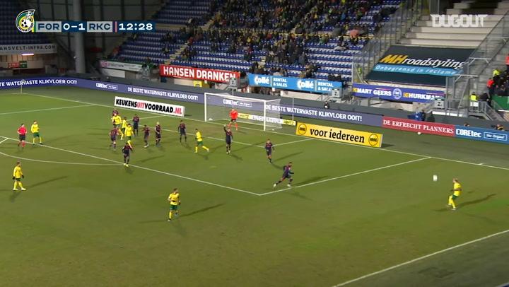 Vitalie Damasacan's brace seals win over RKC Waalwijk