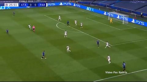 Gol del Mario Pa\u0161ali\u0107 al PSG (Champions League 2020)