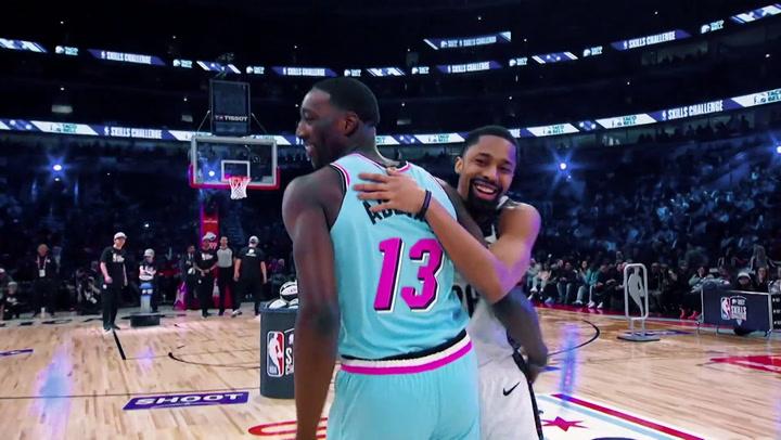 Lo mejor de la previa del All Star de la NBA