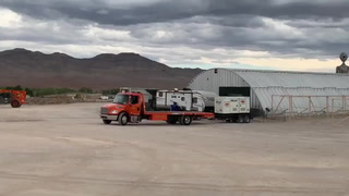 Setup underway for Area 51 Basecamp
