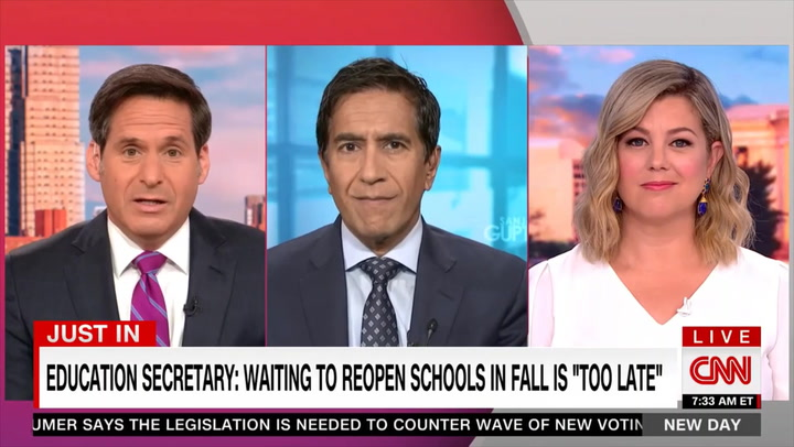 CNN's Dr. Gupta: 'Science Is Not Necessarily Being Followed' by CDC, 'We're Probably Doing Things That We Don't Need to'