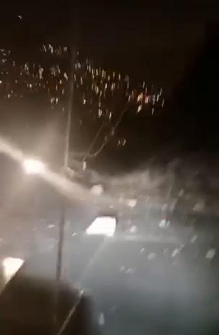 Derrumbe en cerro El Chile provocó corte de energía