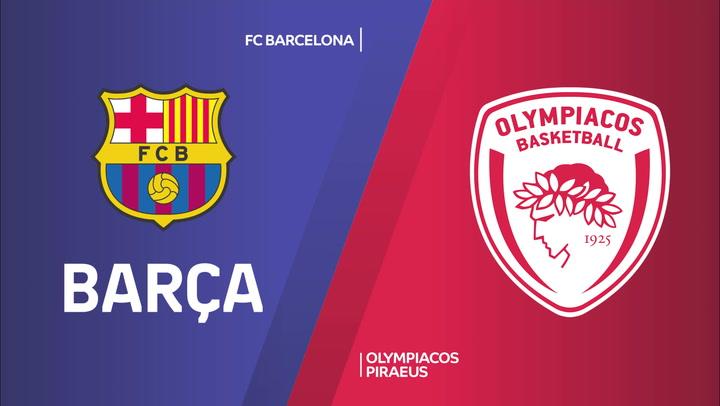 El resumen del FC Barcelona - Olympiacos (90-80)