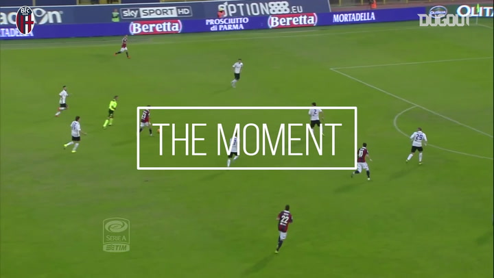 The Moment: Franco Brienza's Goal Vs Atalanta
