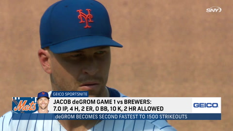 Recapping highs and lows of Mets' doubleheader split against Brewers