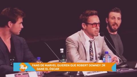 Fans de Marvel hacen campaña para que Robert Downey Jr gane el Oscar