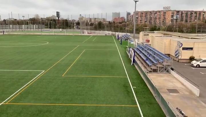 Toda la actividad del RCD Espanyol está parada desde hace algunos días