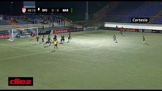 Marathón derrotó al Diriangén en la Concacaf League con gol de Mario Martínez en el debut del