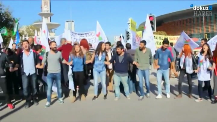 Beelden van de aanslag in Ankara