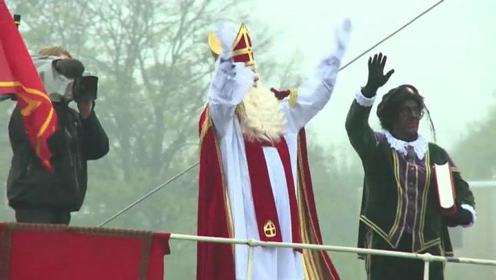 Video: Sinterklaas komt aan in Gouda