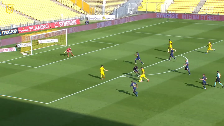 Ludovic Blas great solo goal vs Brest