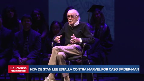 Hija de Stan Lee estalla contra Marvel por caso Spider-Man