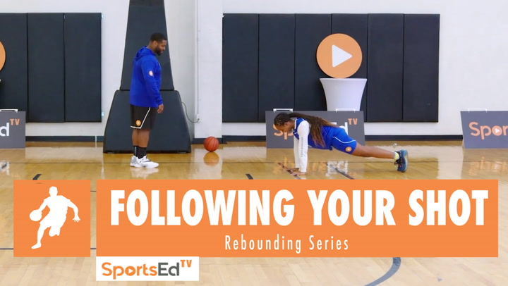 Following Your Shot: The Superman Drill