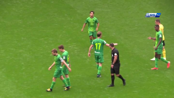 La Real Sociedad empata a tres ante el Millwall en partido de pretemporada