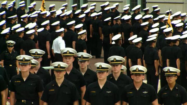 USA Women Visit Naval Academy