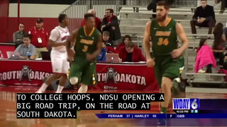 NDSU men lose to South Dakota