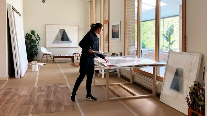 Rachel Valdés y Alejandro Sanz, ¿de visita a su nueva casa?