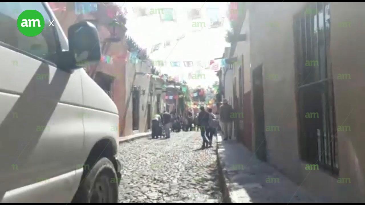 Filman videoclip de 'El Sol' en Guanajuato
