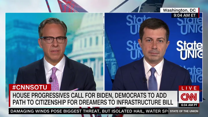 Buttigieg Declines to Rule Out Adding Path to Citizenship to Biden's Infrastructure Package