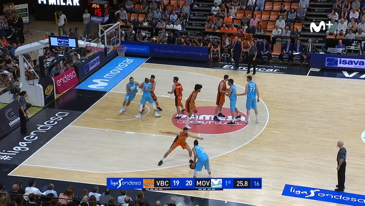 Valencia Basket - Movistrar Estudiantes (90-82)