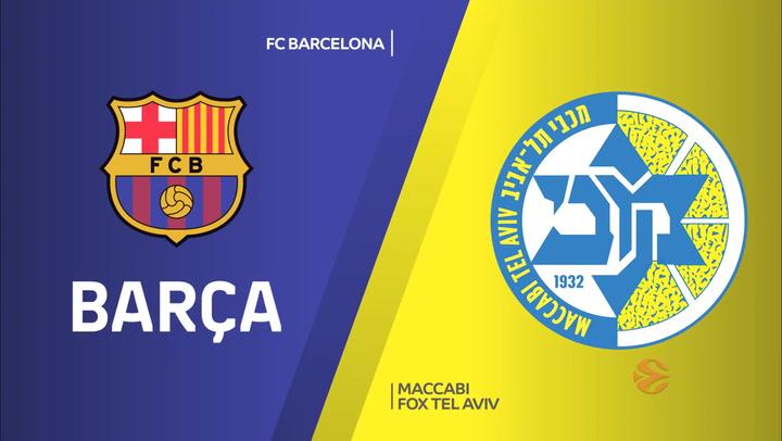 Euroliga: Resumen del FC Barcelona -Maccabi FOX Tel Aviv