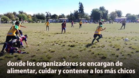 Liga Infantil de los Barrios: más de 2.000 chicos aprenden valores a través del fútbol