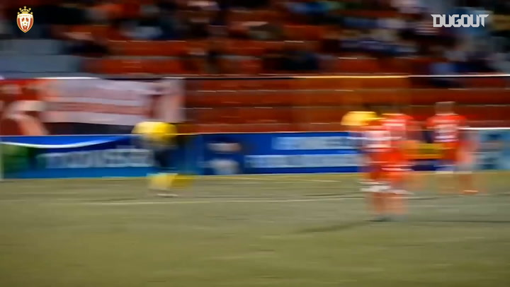 Gregorio Torres' stunning goal with the outside of his foot