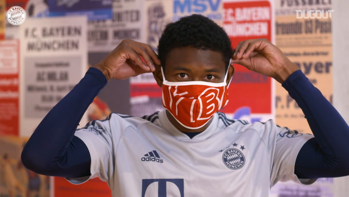 Lewandowski, Gnabry, Alaba and Kimmich give hygiene advice