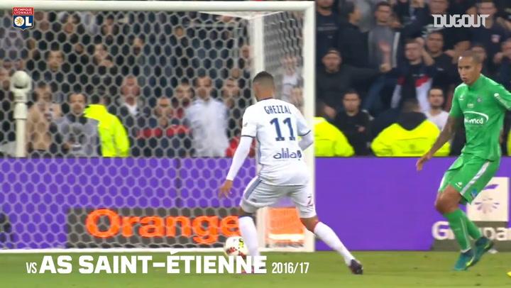 Los mejores goles de Rachid Ghezzal con el Olympique de Lyon